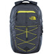The North Face Borealis Backpack Asphalt Grey White Heather/Blazing Yellow